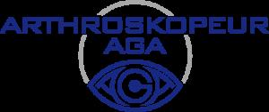 Das Siegel der Arthroskopeur AGA.